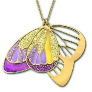 Swarovski 💜 Noisette Purple Butterfly Necklace